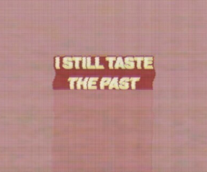 past, quotes, and pink image