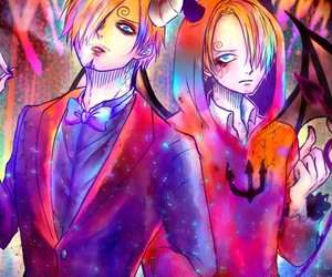 one piece, ñami, and sanji image