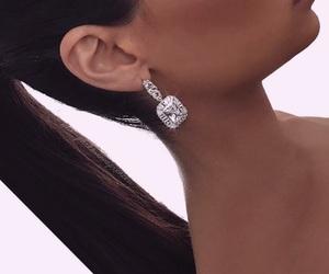 black hairs, fashion, and ponytail image