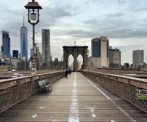 bridge, Brooklyn, and usa image