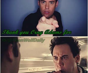 teen wolf, coach finstock, and orny adams image