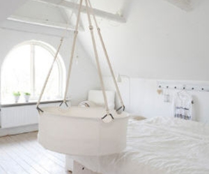 bedrooms, interiors, and white image