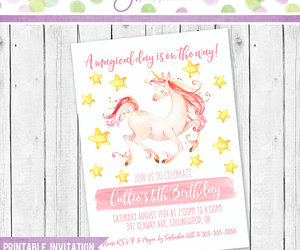 birthday party, girl birthday, and unicorn party image