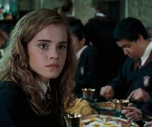hermione granger, harry potter, and emma watson image
