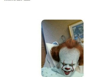 clown, lol, and text image