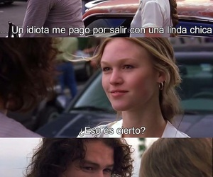 love, 10 cosas que odio de ti, and movie image