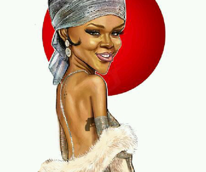 art, rih, and robynfenty image