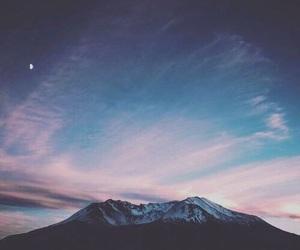 sky, mountain, and beautiful image