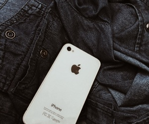 apple, jeans, and iphone4s image