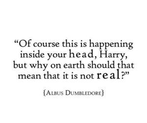 albus dumbledore, harry potter, and real image
