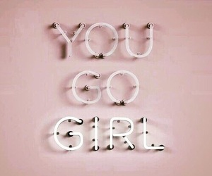 girl, pink, and quotes image