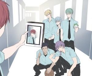 kuroko no basket, kuroko tetsuya, and selfie image