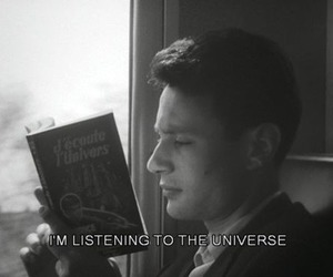 book, universe, and quotes image