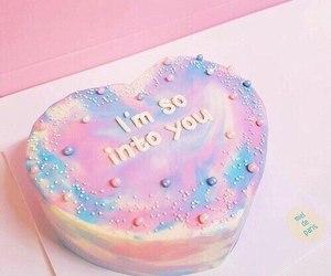 cake, pastel, and pink image