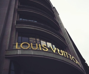 Louis Vuitton, luxury, and black image