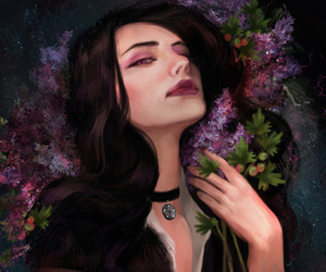 yennefer, yen, and the witcher image