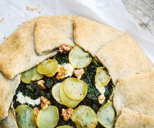 garlic, ricotta, and tart image