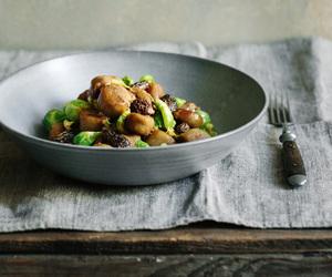 chestnut, cream, and dumpling image