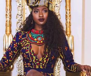 Queen, African, and melanin image