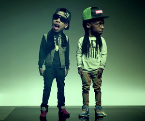 lil wayne, swag, and tyga image