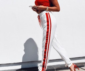 fashion, outfit, and pants image