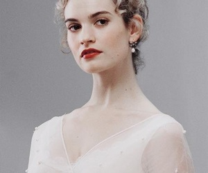lily james, war and peace, and natasha rostova image