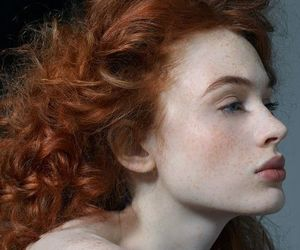 ethereal, redhead, and woman image