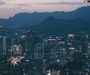 seoul and city image