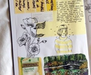 aesthetic, art, and yellow image