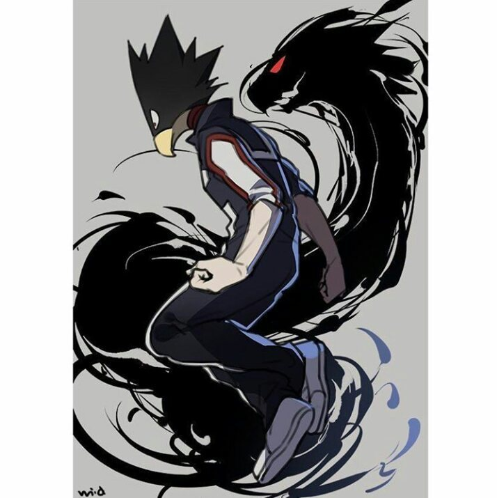 Tokoyami Fumikage Uploaded By Kristina On We Heart It