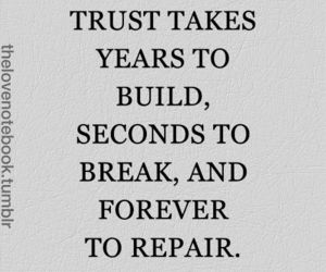 trust and heartbrake image