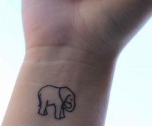 tattoo and elephant image