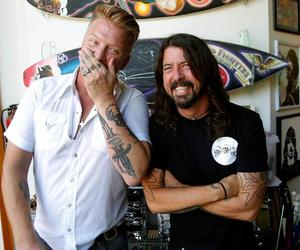 bromance, dave grohl, and foo fighters image