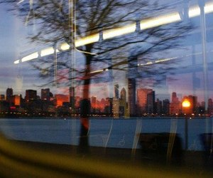 city, train, and travel image