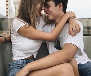 boy, girl, and girlfriend image