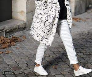 coat, cold, and pants image