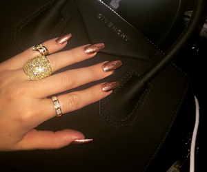 nails, Givenchy, and luxury image