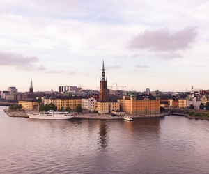 beautiful, city, and stockholm image