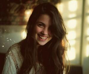 girl and smile image
