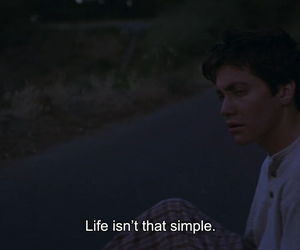 life, quotes, and donnie darko image