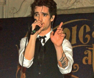 boys, brendon urie, and panic at the disco image
