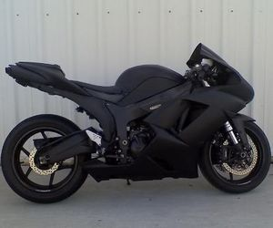 black, kawasaki, and motorcycle image