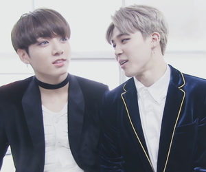 bts, jungkook, and jikook image