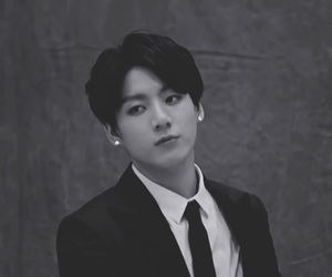 black and white, ulzzang, and bts image