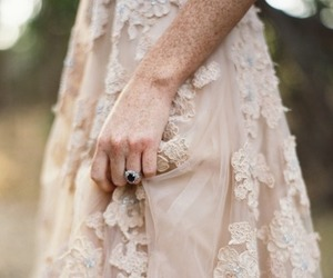 freckles, southern gothic, and lace image