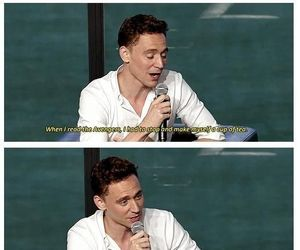 british, tom hiddleston, and funny image