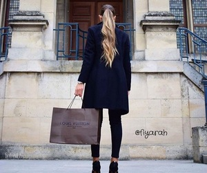 blond hair, blonde, and clothes image