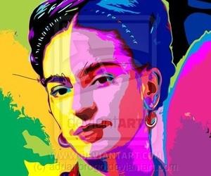 art, frida kahlo, and méxico image
