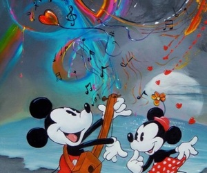 art, mouse, and disney image