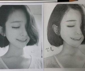 asian girl, ulzzang, and son hwa min image